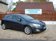 2011 11 PLATE VAUXHALL ASTRA 1.6 MANUAL SE 5 DOOR STEEL GREY