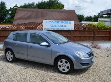 2007 07 VAUXHALL ASTRA 1.4 CLUB FINISHED IN GREY METALLIC BLACK INTERIOR