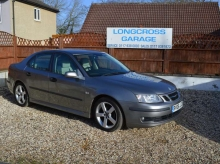 2006 SAAB 9-3 TURBO VECTOR MANUAL GREY