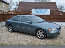 2005 Volvo S60 2.4 TD D5 SE 4dr SAT NAV AND FULL LEATHER