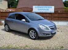 2009 Vauxhall Corsa 1.4 i 16v SXi 3dr VERY LOW MILEAGE