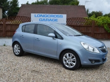 2008 08 VAUXHALL CORSA DESIGN 1.4 5 DOOR MANUAL HALF LEATHER