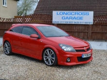 2008 VAUXHALL ASTRA VXR 2.0 TURBO MANUAL 3 DOOR RED