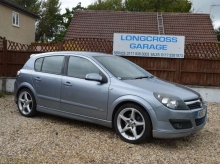 2006 56 VAUXHALL ASTRA 1.9 CDTI SRI 5 DOOR MANUAL GREY
