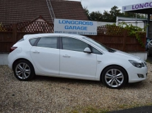2010 VAUXHALL ASTRA 2.0 CDTI SRI DIESEL MANUAL WHITE
