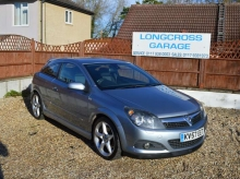 2007 57 VAUXHALL ASTRA 1.9 CDTI SRI COUPE MANUAL GREY METALLIC