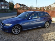2009 BMW 318 D TOURING AUTOMATIC BLUE METALLIC
