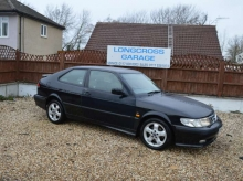 1999 SAAB 9-3 SE TURBO AIRFLOW COUPE BLACK MANUAL