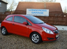 2009 09 Vauxhall Corsa 1.0 16v Active manual red