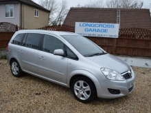 2010 Vauxhall Zafira 1.6 energy 7 seater very low miles manual silver