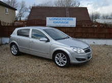2007 57 VAUXHALL ASTRA 1.9 CDTI DIESEL DESIGN 5 DOOR MANUAL