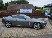 2006 Jaguar XK 4.2 V8 coupe metallic silver automatic 57k on the clock STUNNING