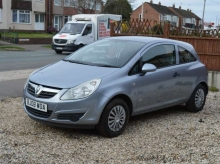 2008 08 VAUXHALL CORSA 1.2 LIFE 16V MANUAL 3 DOOR SILVER GREY LOW MILES