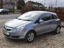 2009 VAUXHALL CORSA 1.3 CDTI ECOFLEX ACTIVE DIESEL 3 DOOR MANUAL