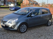 2011 VAUXHALL CORSA 1.3 CDTI ECOFLEX EXCITE 5 DOOR MANUAL DIESEL