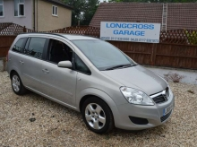 2008 08 VAUXHAAL ZAFIRA 1.9 CDTi Exclusiv 5dr AUTOMATIC SEVEN SEATER