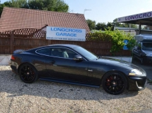 2010 JAGUAR XKR 5.0 COUPE SUPERCHARGED BLACK