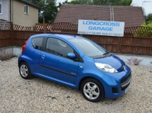 2010 PEUGEOT 107 1.0 VERVE MANUAL PETROL BLUE