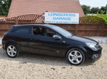 2008 VAUXHALL ASTRA 1.8i 16v SRI SPORT 3 DOOR HATCH MANUAL PETROL BLACK