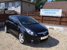 2010 VAUXHALL CORSA 1.4 SRI 16v 3 DOOR BLACK MANUAL PETROL