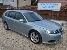 2010 SAAB 9-3 SPORTWAGON TURBO EDITION 1.9 DIESEL MANUAL LEATHER