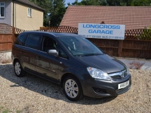 2011 VAUXHALL ZAFIRA 1.7 TD ecoFLEX DESIGN 7 SEATS MANUAL HALF LEATHER
