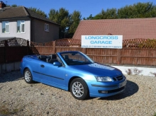 2007 07 SAAB 9-3 LINEAR 1.9 TID CONVERTIBLE FULL LEATHER