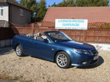 2009 09 SAAB 9-3 1.9 VECTOR SPORT AUTOMATIC CONVERTIBLE FULL LEATHER