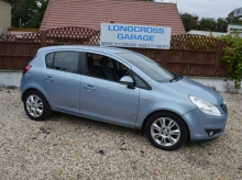 2009 59 VAUXHALL CORSA 1.4 DESIGN PETROL MANUAL LOW MILES HALF LEATHER