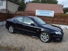 2006 56 Saab 9-3 2.0 T Aero 4dr FULL TURBO AERO BLACK WITH FULL LEATHER