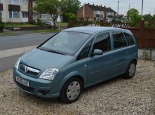2006 Vauxhall Meriva 1.4 i 16v Club 5dr MANUAL PETROL
