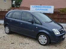 2010 Vauxhall Meriva 1.6 i 16v Club 5dr PETROL MANUAL