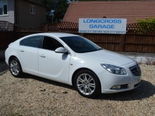 Vauxhall Insignia 1.8 i VVT 16v Exclusiv 5dr MANUAL WHITE
