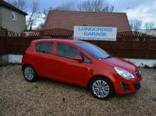 2011 VAUXHALL CORSA 1.2 EXCITE PETROL MANUAL 5 DOOR