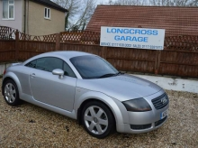 2002 AUDI TT QUATTRO COUPE PETROL MANUAL SILVER BLACK LEATHER