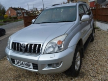 2004 54 TOYOTA LAND CRUISER 4X4 MANUAL 3.0 D-4D LC4 7 SEATER