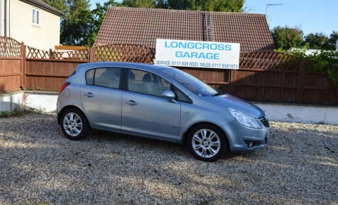 2008 VAUXHALL CORSA 1.4 16V DESIGN A/C 5 DOOR MANUAL