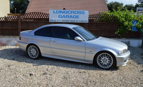 2001 Y BMW 3 SERIES 330 CI COUPE AUTOMATIC SILVER FULL LEATHER