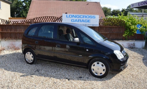 2006 56 VAUXHALL MERIVA 1.3 CDTI 5 DOOR MANUAL DIESEL BLACK