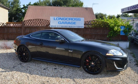 2010 Jaguar XKR 5.0 Supercharged COUPE STUNNING
