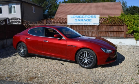 2016 MASERATI GHIBLI 3.0 TD V6 SS FINISHED IN RED WITH FULL RED LEATHER