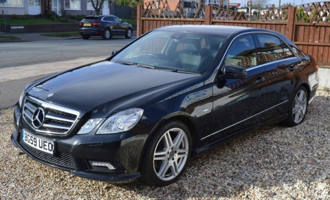 2009 59 MERCEDES BENZ E CLASS BLUEEEFICIENCY SPORT AUTO