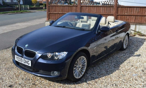 2009 BMW 3 SERIES 2.0 PETROL 320I SE CONVERTIBLE AUTOMATIC