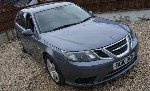2010 2010 SAAB 9-3 1.9 TID SPORTWAGON ESTATE MANUAL FINISHED IN STEEL GREY