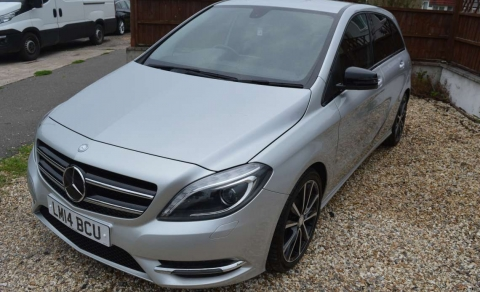 2014 MERCEDES BENZ B-CLASS B180 CDI SPORT 5 DOOR MANUAL LOW MILEAGE